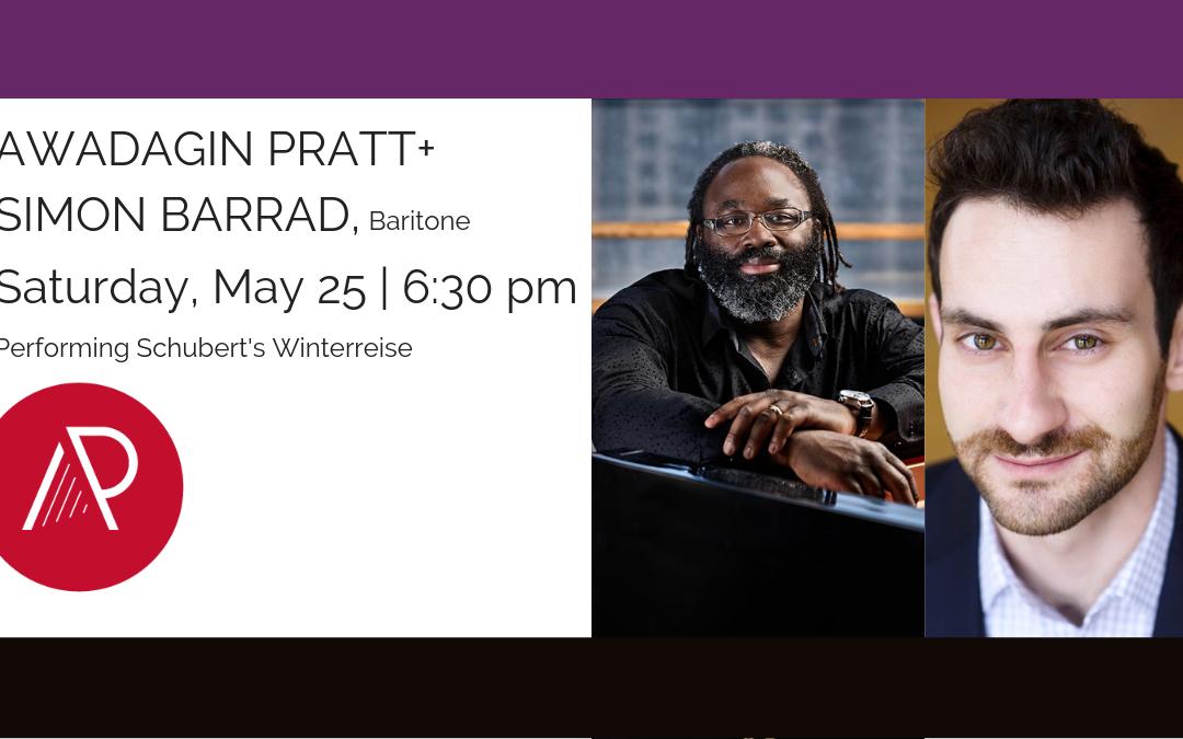 Awadagin Pratt + Simon Barrad – 2019 Concert
