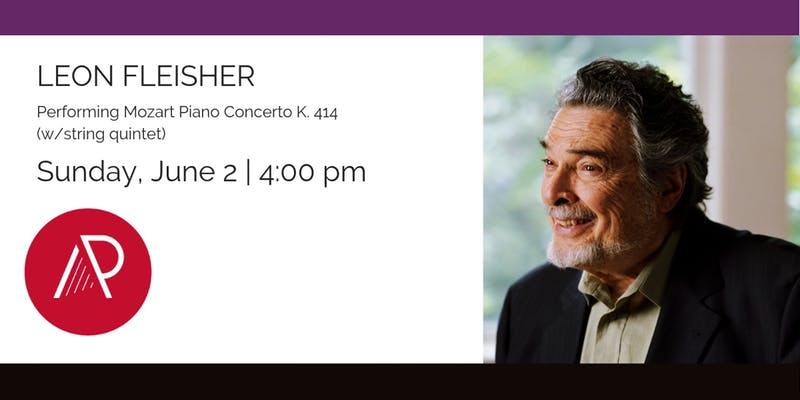Leon Fleisher – 2019 Concert