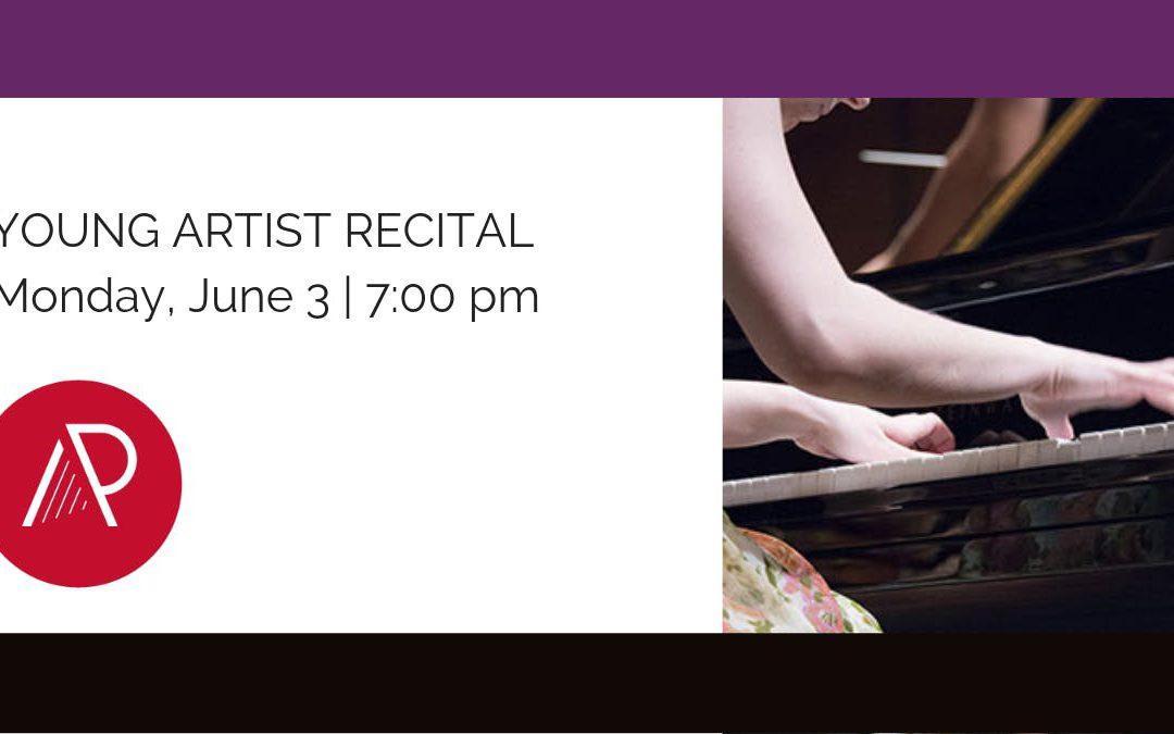 Art of the Piano 2019 | Young Artist Recital | June 3